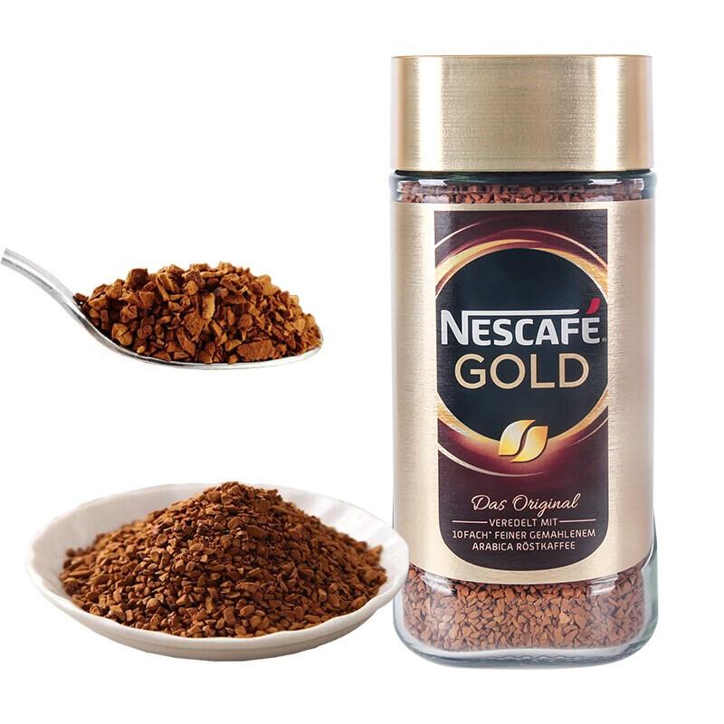 Nestlé 雀巢  金牌 原味 速溶黑咖啡 200g