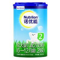 Nutrilon 诺优能 较大婴儿配方奶粉 2段  900g
