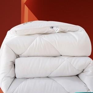 LOVO 乐蜗家纺 LOVO罗莱生活出品 艺享四孔纤维冬被 加大双人被子220*240cm