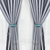 莱朗 手工编织窗帘带磁力扣绑带 1对装