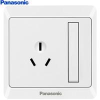 Panasonic 松下 WMWA608-N 86型墙面开关 16A3孔