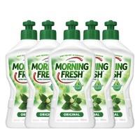 PLUS会员:MORNING FRESH  超浓缩植物洗洁精 400ml*5瓶装
