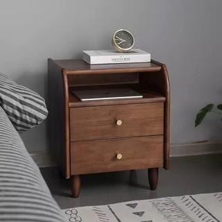 Antigue-arts 艾迪嘉 实木现代简约卧室床头柜 多色可选