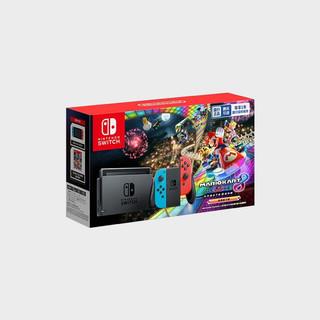 Nintendo 任天堂 国行 Switch游戏主机 马力欧卡丁车8 套装