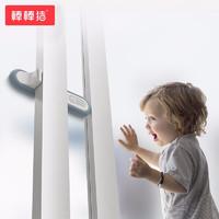 BabyBBZ 棒棒豬 棒棒豬(BabyBBZ) 嬰兒童防墜樓安全鎖寶寶移門鎖防護推拉門窗鎖窗戶鎖 墨藍色2個裝
