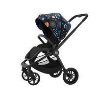 虎贝尔(HBR)高景观婴儿车宝宝儿童手推双向婴儿推车轻便折叠可坐可躺 H1宇宙梦系列