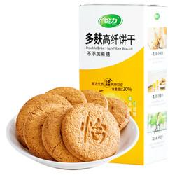 怡力 代餐饼干 粗粮多麸纤维饼干 216g