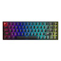 AULA 狼蛛 F3068 午夜霓虹 68键 双模机械键盘 木蓝轴 RGB