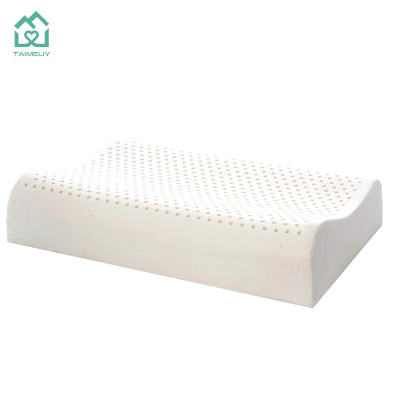 TAIMELIY  乳胶枕 简装单只50*30*7/9cm+内套