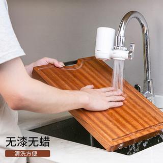 hommy 佳佰 乌檀木实木切菜板 (36*25*2.5cm)
