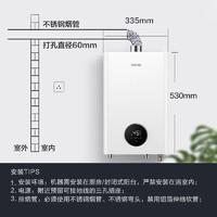 WAHIN 华凌 SQ22-L1 燃气热水器 天然气 12升