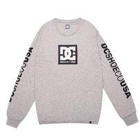 DC SHOES 男士时尚LOGO印花潮牌滑板长袖T恤潮流舒适透气