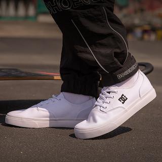 DC SHOES ADYS300467-WBK 男款低帮帆布鞋