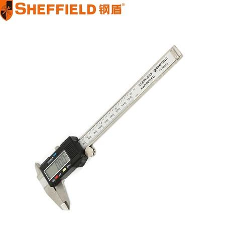 SHEFFIELD 钢盾 电商专供数显游标卡尺150mm-(T130013)/1把