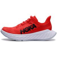 HOKA ONE ONE Carbon X 2 男子跑鞋 1113526-FWT 红白 42.5