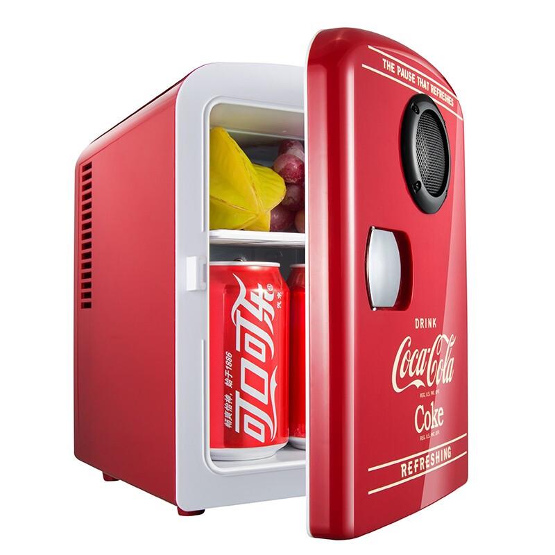 Coca-Cola 可口可乐 车载音乐冰箱 可乐红色 4L