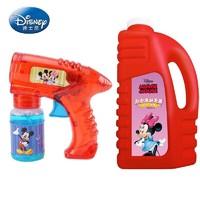 Disney 迪士尼 泡泡机泡泡液1000ml版红色