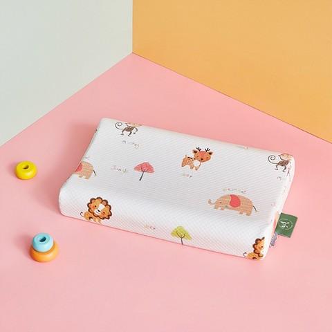 Luolai Kids 罗莱儿童 新品A类儿童印花泰国进口乳胶护颈枕头枕芯