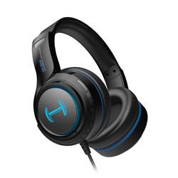 EDIFIER 漫步者 HECATE G30 头戴式有线耳机 黑蓝色