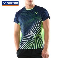 VICTOR 威克多  VICTOR/威克多羽毛球服短袖男女款夏季圆领省队系列 80008 81008