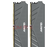 GLOWAY 光威 天策系列 DDR4 3000MHz 台式机内存条 16GB(8GB*2)摩登灰