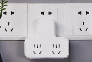 波胜 多功能插座 不带USB 新国标*2
