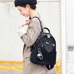 真维斯双肩包女防盗包韩版时尚百搭小背包休闲大容量学生旅行书包