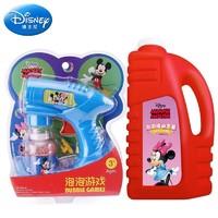 Disney 迪士尼 迪士尼 Disney泡泡机泡泡液1000ml版蓝色六一儿童节礼物