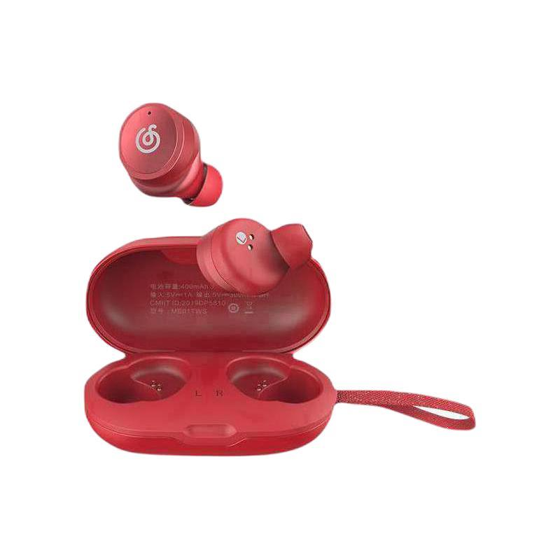 NetEase CloudMusic 网易云音乐 ME01TWS Pro 入耳式真无线蓝牙降噪耳机 浆果红
