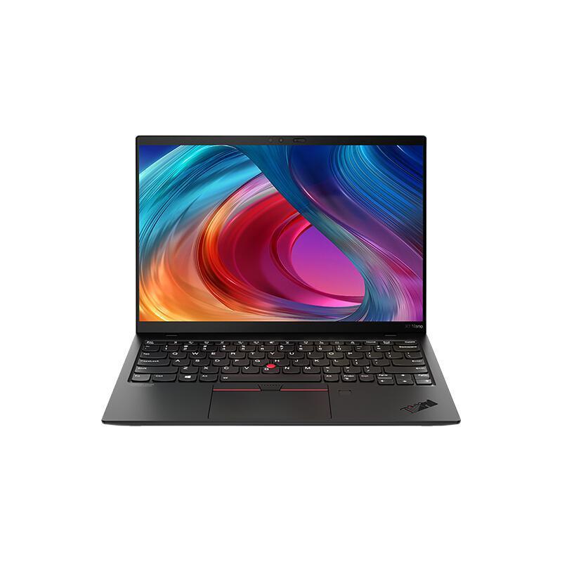 ThinkPad 思考本 X1 Nano 13英寸 轻薄本 黑色(酷睿i7-1160G7、核芯显卡、16GB、1TB SSD、2K、LED、60Hz)