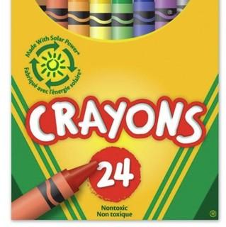 Crayola 绘儿乐 儿童彩色蜡笔 24色 52-3024