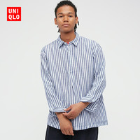UNIQLO 优衣库 UQ438411000 男士衬衫