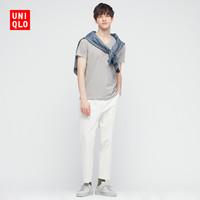 UNIQLO 优衣库 优衣库 男装/女装 快干V领T恤(短袖 纯色) 433026 UNIQLO