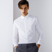 G2000 纵横两千 防皱商务男衬衫 新款工作休闲正装衣服修身薄款衬衣