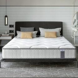 CatzZ 瞌睡猫 弹立方 海绵弹簧床垫 白色 180*200*20cm