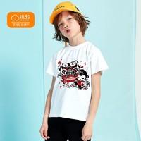 balabala 巴拉巴拉  男童新疆棉短袖T恤