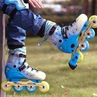 SOFT TE-786 儿童初学者轮滑鞋