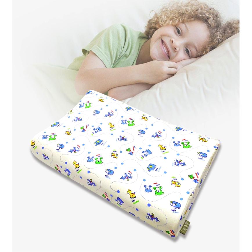 MeiLuoJia 美洛家 天然乳胶儿童枕头 44cm*27cm*6cm