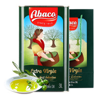 Abaco 特级初榨橄榄油 3L 铁罐装