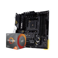 AMD 锐龙R5 3600处理器+ASUS 华硕 TUF GAMING A320M-K 主板