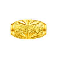 LUKFOOK JEWELLERY 六福珠宝 B01TBGP0002 榄型珠足金吊坠 1.07g