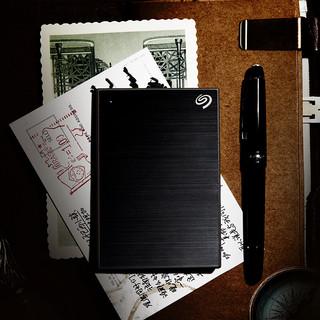 SEAGATE 希捷 铭系列 USB移动机械硬盘 4TB USB3.0 兼容Mac 黑色