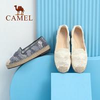 CAMEL 骆驼 A112266266 女款镂空低跟渔夫鞋