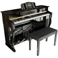 雷费尔德家用电钢琴88键重锤专业数码钢琴