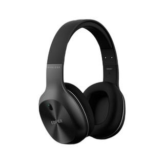 EDIFIER 漫步者 W800BT Plus 耳罩式头戴动圈降噪蓝牙耳机 苍穹黑