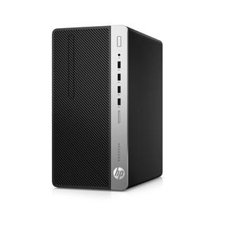 HP 惠普 ProDesk 480 G4 20英寸 台式机 黑色(酷睿i3-7100、核芯显卡、4GB、1TB HDD、风冷)