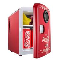 Coca-Cola 可口可乐 可口可乐 车载冰箱迷你小冰箱 4L
