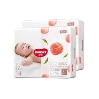 再降价、88VIP:HUGGIES 好奇 铂金装 婴儿纸尿裤 L76片 2包装