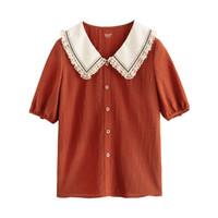 INMAN 茵曼 1812130HM382 女士衬衫