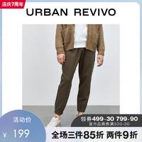 2020冬季新品男装复古束脚裤ML47R6KE2000